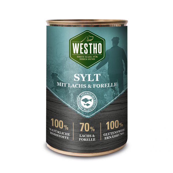 Westho Dog Dose Sylt Lachs & Forelle 400g