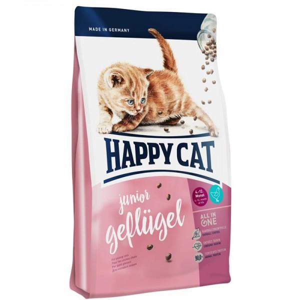 Happy Cat Supreme Junior Geflügel 4kg