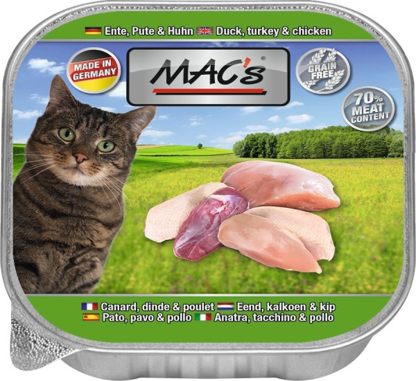 MACs Cat Ente, Pute, Huhn 85g