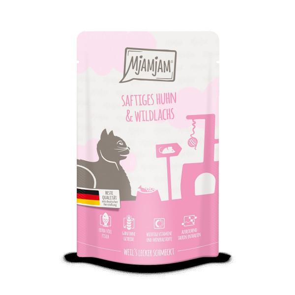 MjAMjAM - Quetschie saftiges Huhn & Wildlachs 125 g