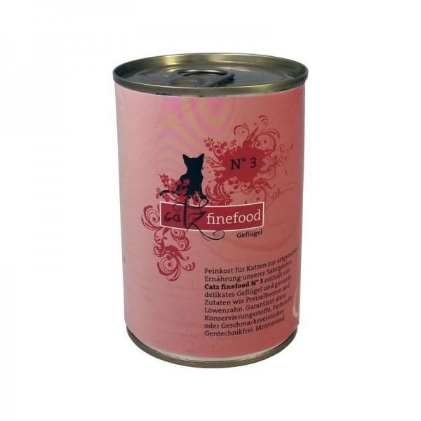 Catz finefood No. 3 Geflügel 400g
