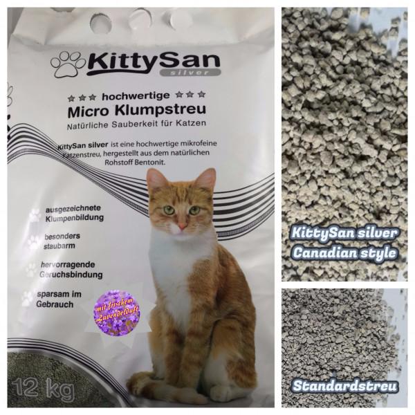 Kittysan silver Lavendel 12kg