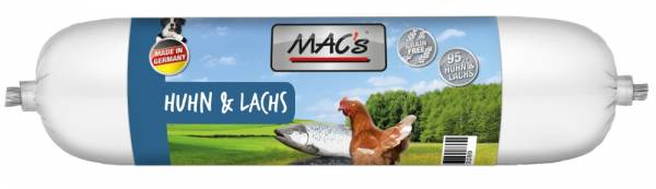 Macs Wurst Huhn+Lachs 400g