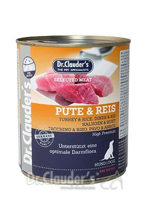 Dr. Clauders Selected Meat Pute-Reis 800g