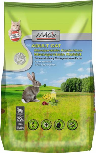 MACs Cat Adult Monoprotein Kaninchen 300g