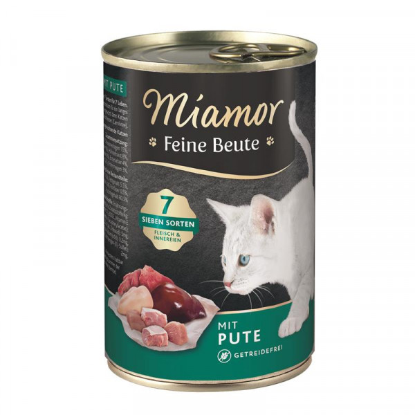 Miamor Dose Feine Beute Pute 400g