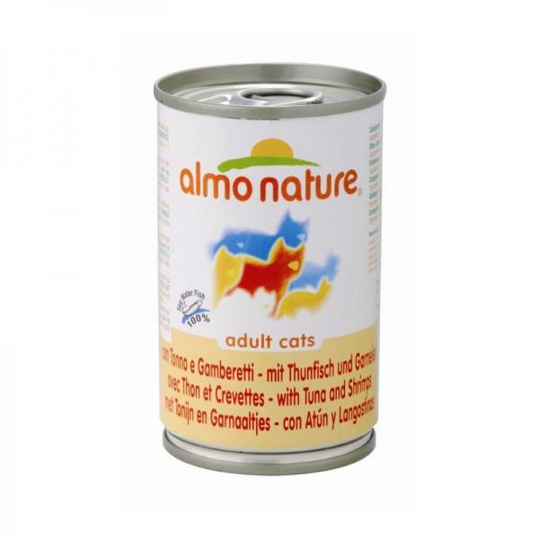 Almo Nature Classic - Thunfisch & Garnelen 140g