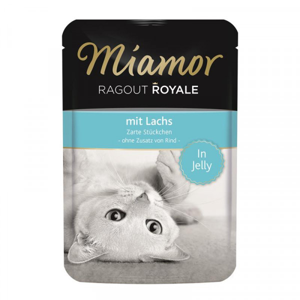 Miamor FB Ragout Royale in Jelly Lachs 100g