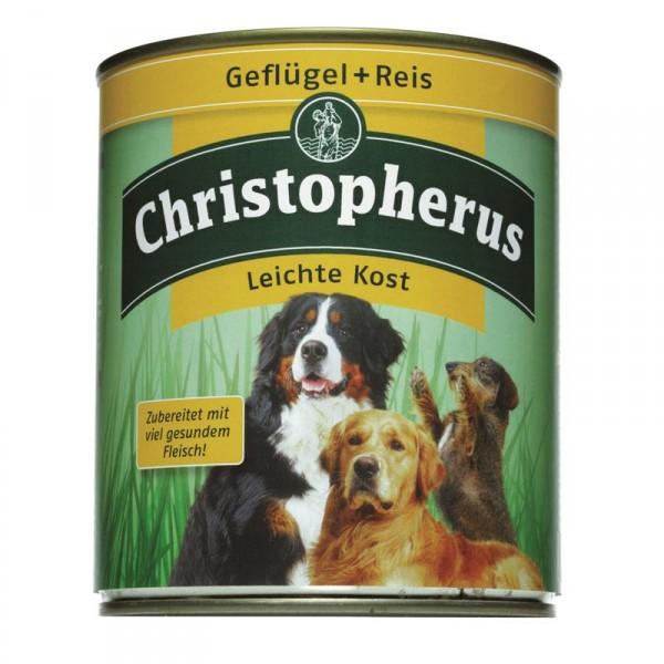 Christopherus Dose Geflügel & Reis pur Schonkost 800g
