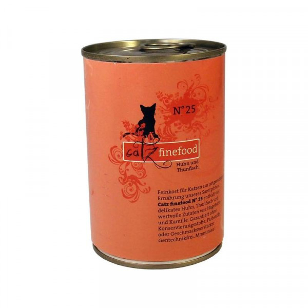 Catz finefood No. 25 Huhn & Thunfisch 400g