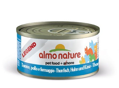Almo Nature Legend - Thunfisch, Huhn & Käse 70g