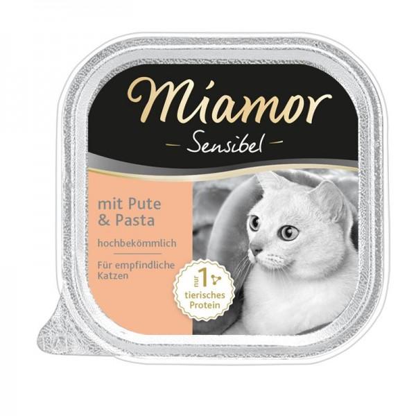 Miamor Schale Sensibel Pute & Pasta 100g