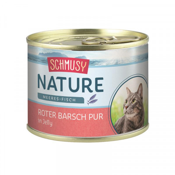 Schmusy Nature Meeres-Fisch Dose Roter Barsch pur 185g
