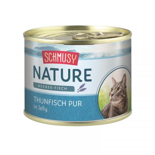 Schmusy Nature Meeres-Fisch Dose Thunfisch pur 185g