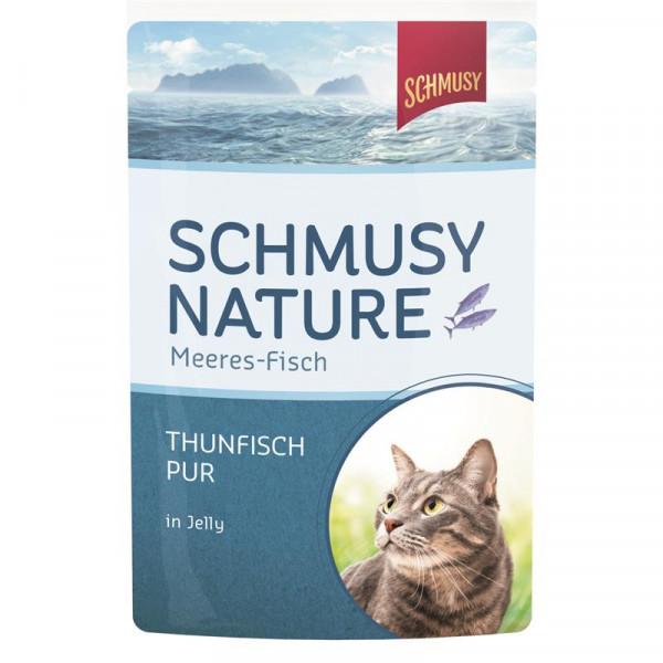 Schmusy Nature Meeres-Fisch FB Thunfisch pur 100g