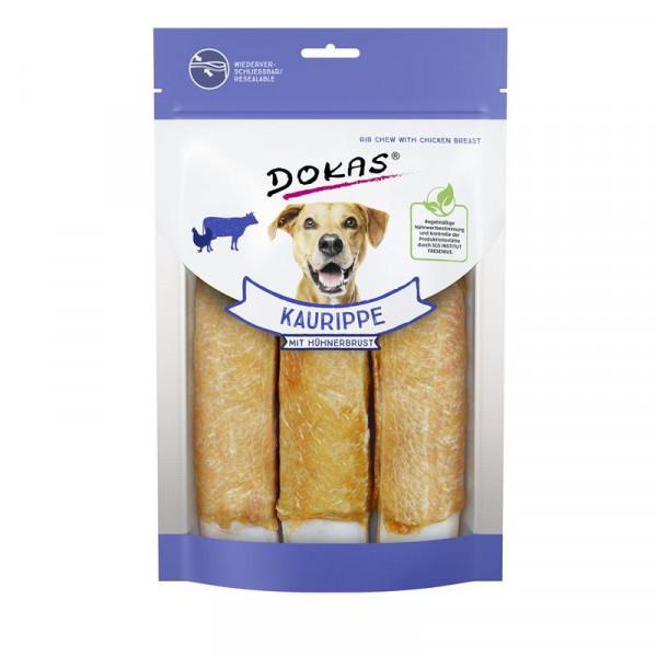 Dokas Hundesnack Kaurippe mit Hühnerbrustfilet 210g