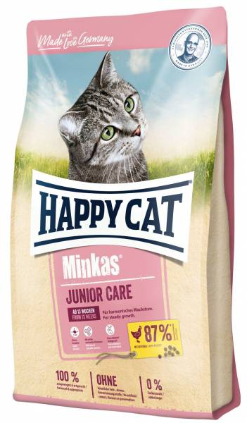 Happy Cat Minkas Junior Care Geflügel 10kg