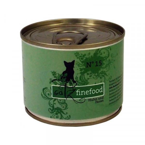 Catz finefood No. 15 Huhn & Fasan 200g