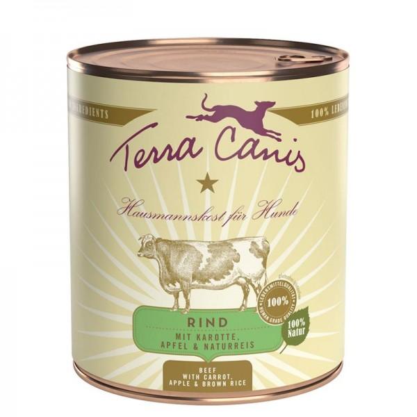 Terra Canis Classic Rind mit Karotte, Apfel und Naturreis 800g