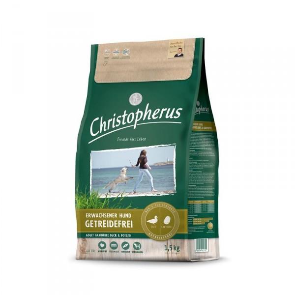 Christopherus Getreidefrei Ente & Kartoffel 1,5kg