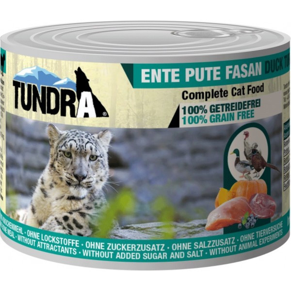 Tundra Cat Ente+Pute+Fas.200g