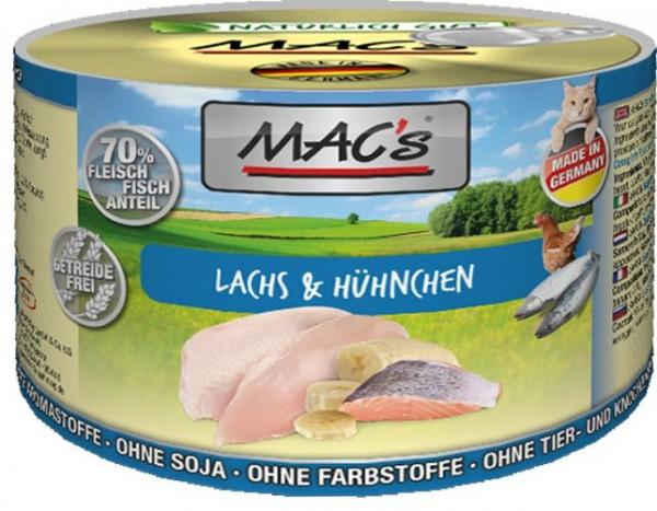 MACs Cat Lachs & Hühnchen 200g