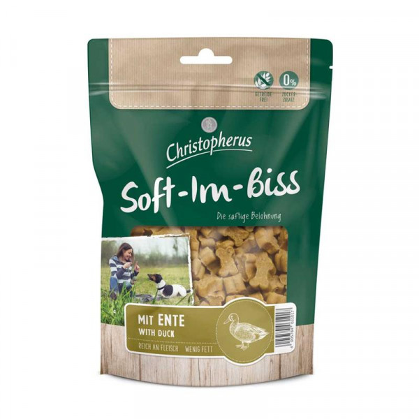 Christopherus Snacks Soft-Im-Biss mit Ente 125 g
