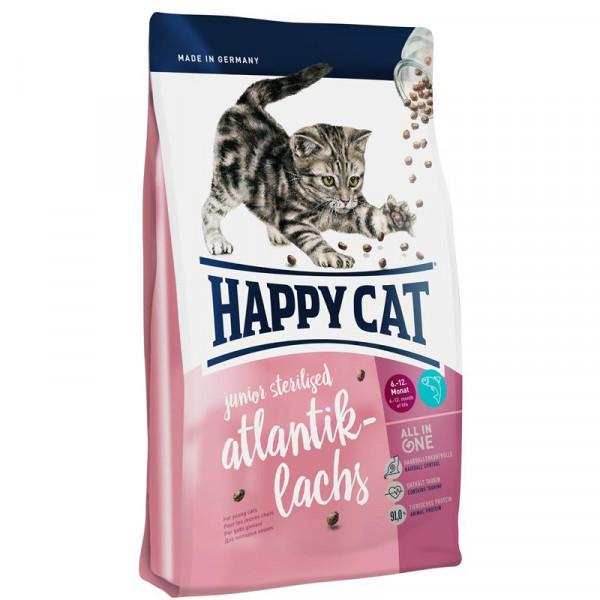 Happy Cat Supreme Junior Sterilised Atlantik-Lachs 4kg