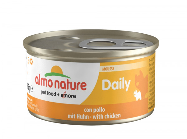 AN Cat Daily Mousse Huhn 85gD