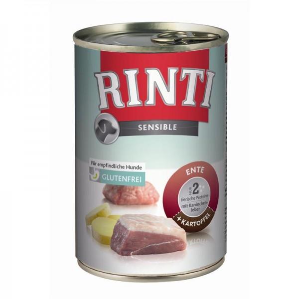 Rinti Dose Sensible Ente, Kaninchen & Kartoffel 400g