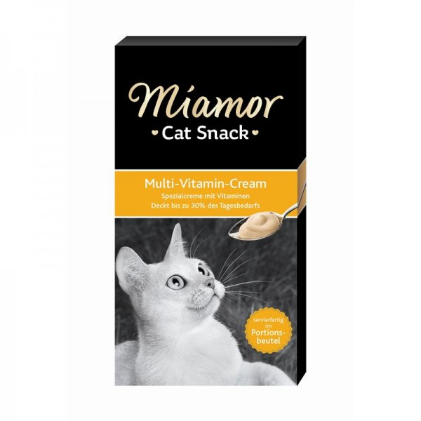 Miamor Cat Confect Multi-Vitamin Cream 6x15g