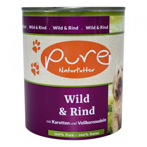 PURE Dog Wild+Rind 800g