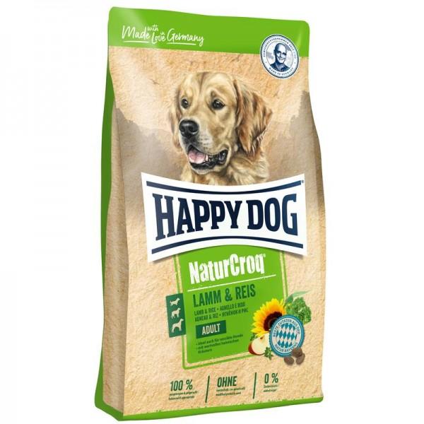 Happy Dog NaturCroq Lamm & Reis 2x15kg