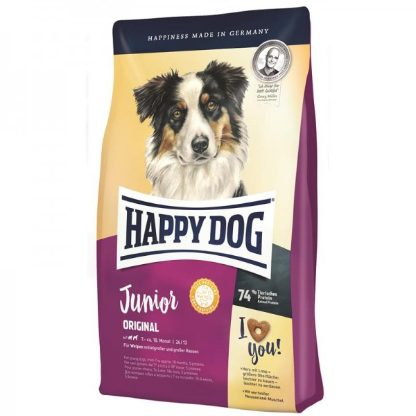 Happy Dog Supreme Sensible Young Junior Original 4kg