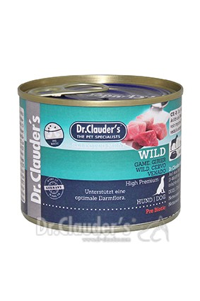 Dr. Clauders Selected Meat Wild 200g