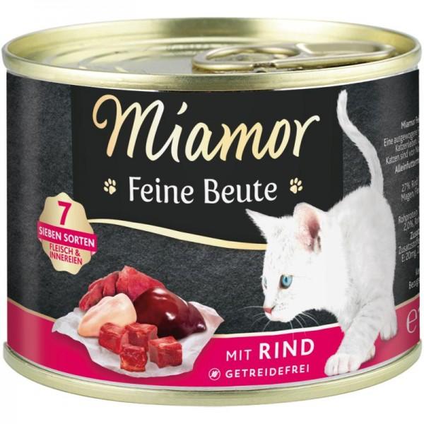 Miamor Dose Feine Beute Rind 185g