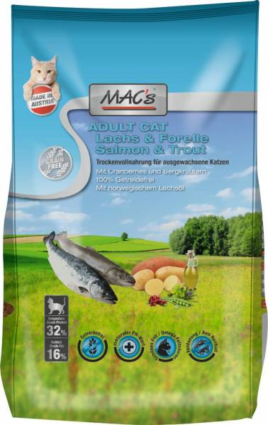 MACs Cat Adult Lachs & Forelle 1,5kg