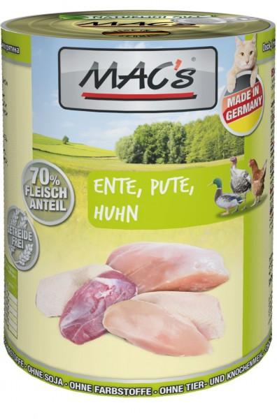 MACs Cat Ente, Pute, Huhn 400g