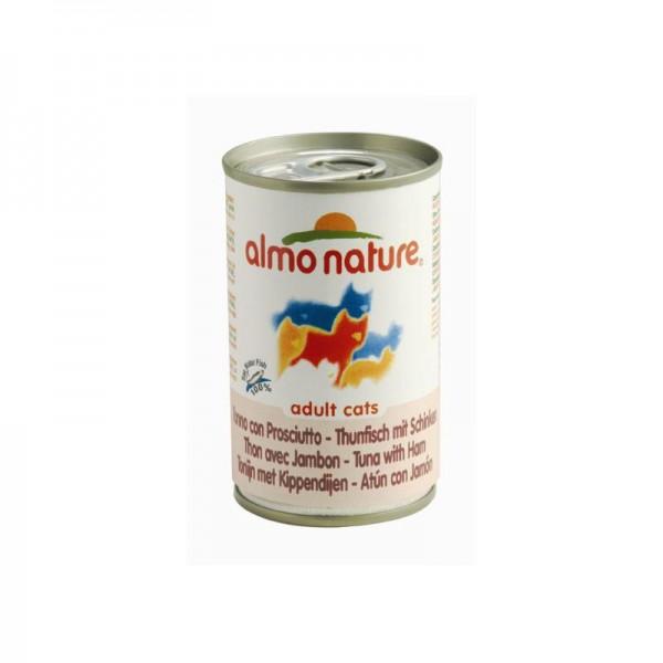 Almo Nature Classic - mit Thunfisch, Huhn & Schinken 140g