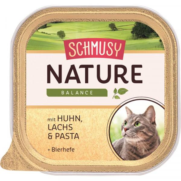 Schmusy Nature Balance FB Menü Huhn & Lachs 100g