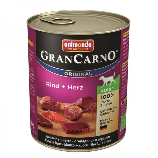 Animonda GranCarno Adult Rind & Herz 800g