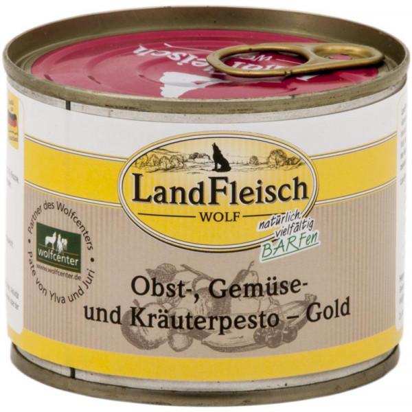 LandFleisch Wolf Obst-, Gemüse und Kräuterpesto Gold 200g