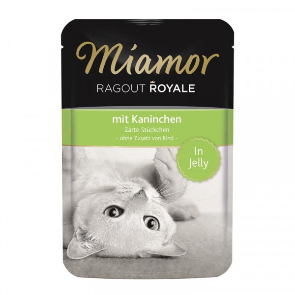 Miamor FB Ragout Royale in Jelly Kaninchen 100g
