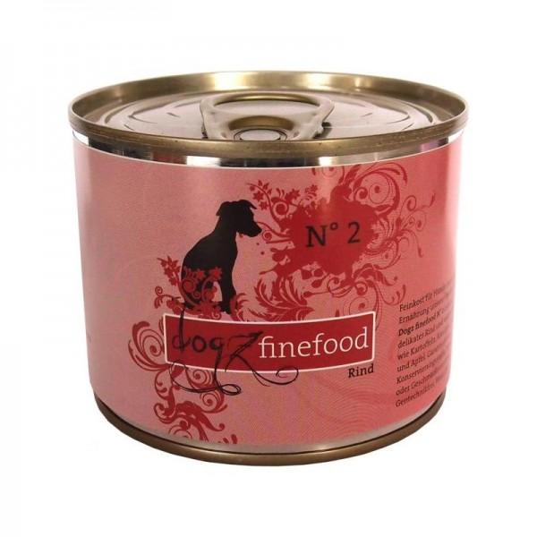 Dogz finefood Dose No. 2 Rind 200g