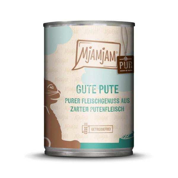 MjAMjAM - purer Fleischgenuss - gute Pute pur 400 g