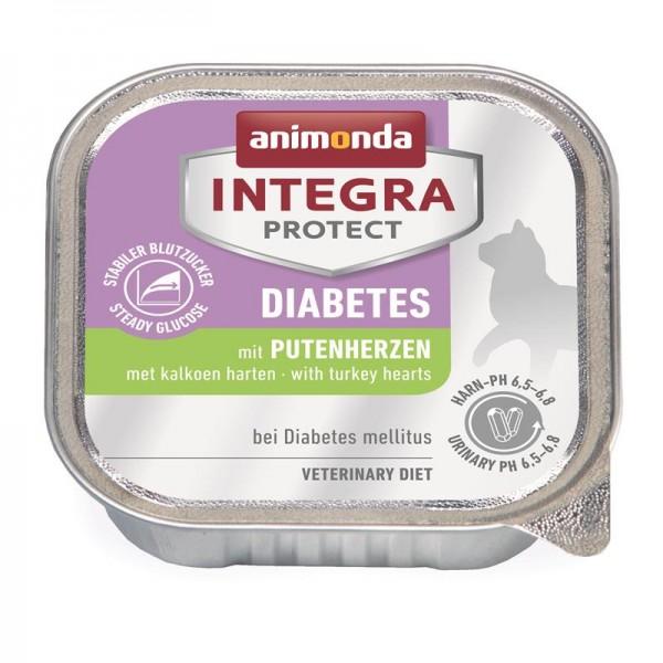 Animonda Integra Protect Diabetes mit Putenherzen 100g
