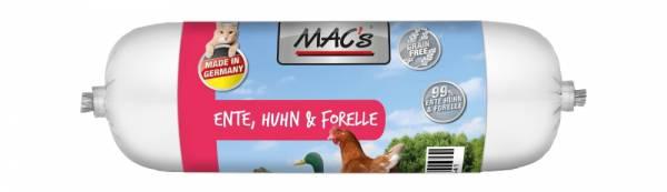 Macs Cat Wurst Ente+Huhn+Forelle 100g