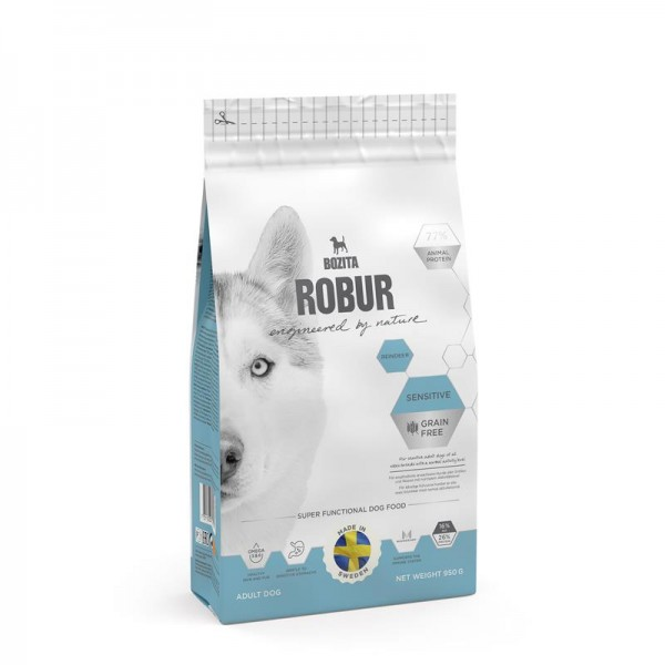 Bozita Robur Sensitive Grain Free Reindeer 950g