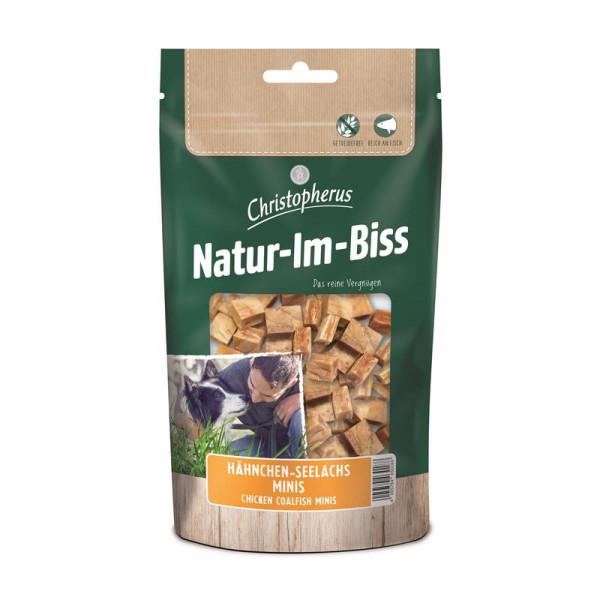 Christopherus Snack Natur-Im-Biss Hähnchen-Seelachs Minis 70g