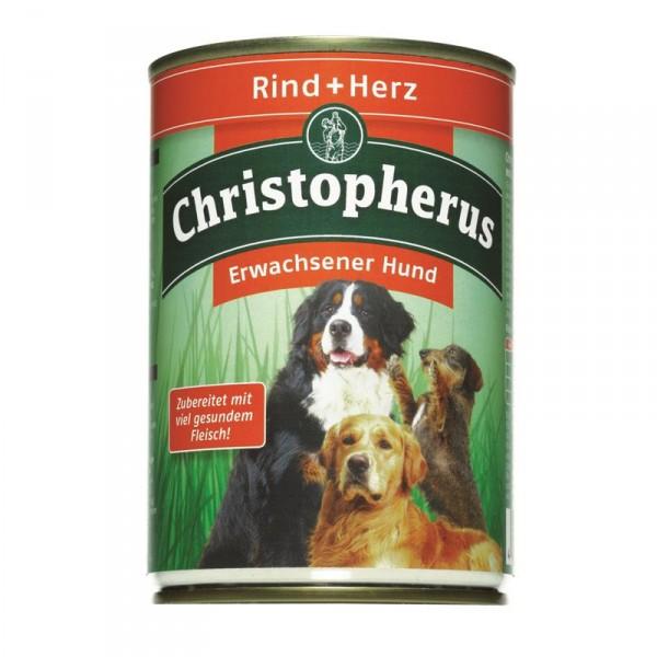 Christopherus Dose Rind & Herz 400g